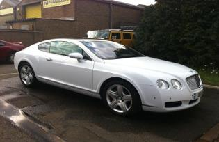 bentley wedding cars leicester