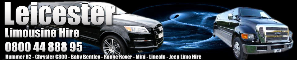 leicester limo hire