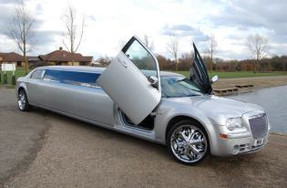 chrysler c300 limo leiecester for hire